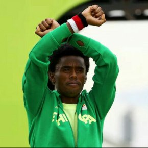 Feyisa Lelisa against Tewodros Adhanom's WHOcandidacy